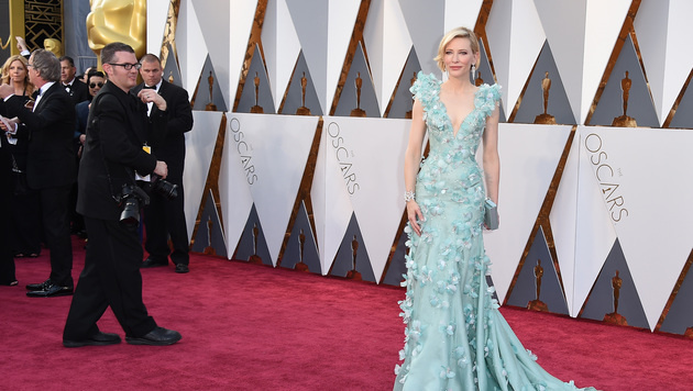 Cate Blanchett (Bild: Jordan Strauss/Invision/AP)