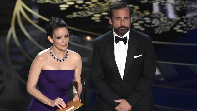 Tina Fey und Steve Carell (Bild: Chris Pizzello/Invision/AP)