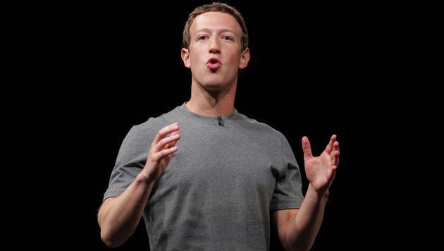 """""""Fake-News auf Facebook nicht wahlentscheidend"""" (Bild: AP)"""