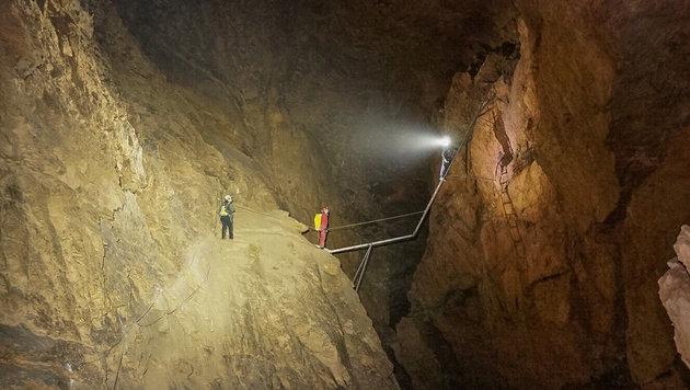 Die Hirlatzhöhle (Bild: APA/THOMAS LEITNER)