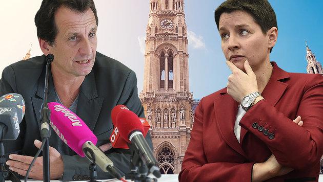 Die Wiener SPÖ-Politiker Sonja Wehsely (re.) und Christian Oxonitsch stehen in der Kritik. (Bild: Peter Tomschi, thinkstockphotos.de, APA/Helmut Fohringer)