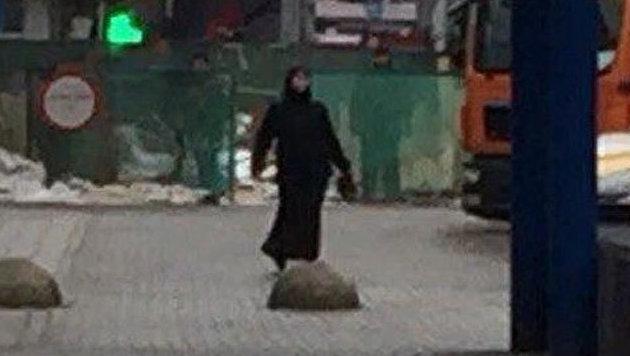 Moskau: Babysitterin trennte M�dchen den Kopf ab (Bild: Twitter.com/AmichaiStein1)