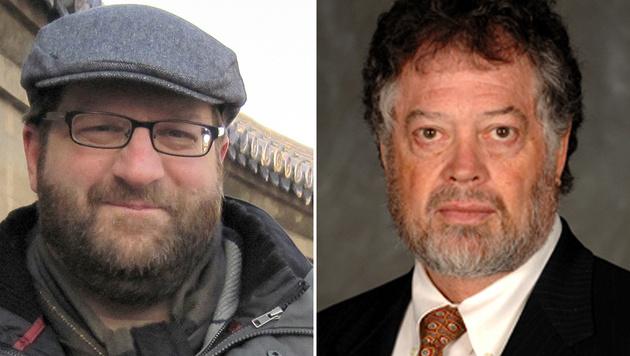 Die US-Politologen Noel (li.) und Wayne (Bild: Hans Noel, Phil Humnicky)