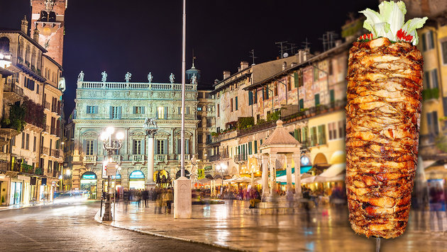Verona verbietet neue Kebab-L�den in Innenstadt (Bild: thinkstockphotos.de)