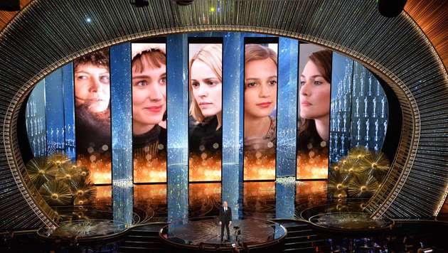 Wer wird zur besten Nebendarstellerin gekürt? (Bild: APA/AFP/MARK RALSTON)