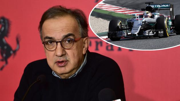 """Ferrari-Boss: """"Bei Mercedes ist alles zu ruhig"""" (Bild: APA/AFP/GIUSEPPE CACACE, GEPA)"""