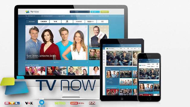 TV Now: Gemeinsames Internetangebot für RTL-Sender (Bild: RTL)