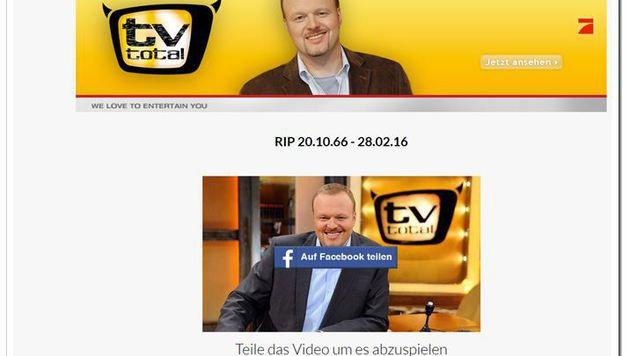 """Wer auf der gefälschten ProSieben-Seite auf """"Teilen"""" klickt, landet bei einem Gewinnspiel. (Bild: Facebook)"""