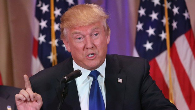 Donald Trump (Bild: APA/AFP/Getty Images/John Moore)