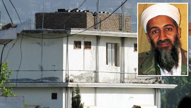 Osama bin Laden wurde 2011 in einem Haus im pakistanischen Abbottabad von Navy Seals getötet. (Bild: AFP, ASSOCIATED PRESS)