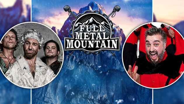 Full Metal Mountain: Die Berge werden beben! (Bild: Alkbottle, Russkaja, Full Metal Mountain)