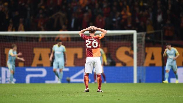 Galatasaray: Europacup-Sperre für ein Jahr! (Bild: AFP)