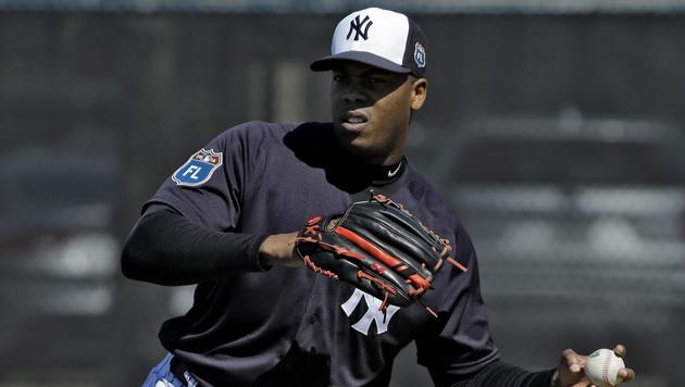 Häusliche Gewalt: Baseballstar 30 Spiele gesperrt (Bild: AP)