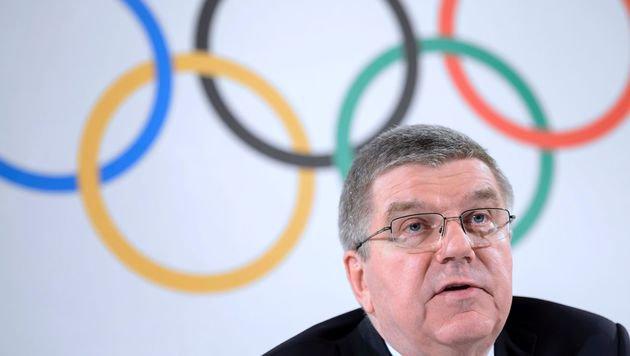 IOC-Präsident Thomas Bach (Bild: AFP or licensors)