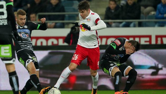 Salzburg verliert die Tabellenführung an Rapid! (Bild: GEPA)