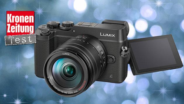 Systemkamera mit OLED-Sucher: Lumix GX8H im Test (Bild: Panasonic, thinkstockphotos.de)
