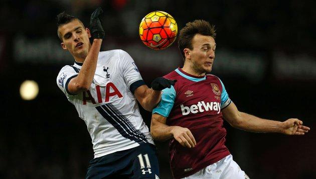 Tottenham verpasst Sprung an die Spitze (Bild: APA/AFP/IAN KINGTON)