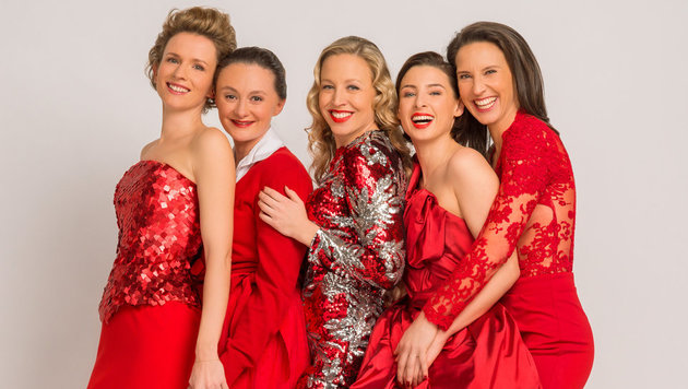 Adina Vetter, Gerti Drassl, Nina Proll, Martina Ebm und Maria Köstlinger (Bild: ORF)