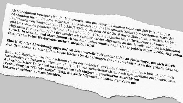 Grenzzaun: Asyl-Lobby verteilt Bolzenschneider (Bild: Krone-Grafik)