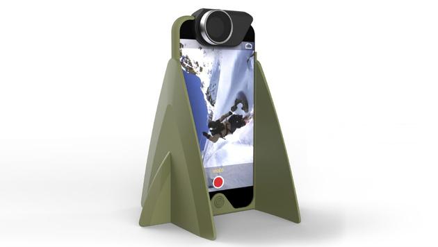 """""""Centriphone"""": Schweizer verleiht iPhone Flügel (Bild: centriphone.me)"""