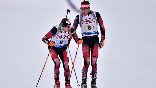 Biathlon-WM: Platz fünf für ÖSV in Mixed-Staffel (Bild: GEPA)