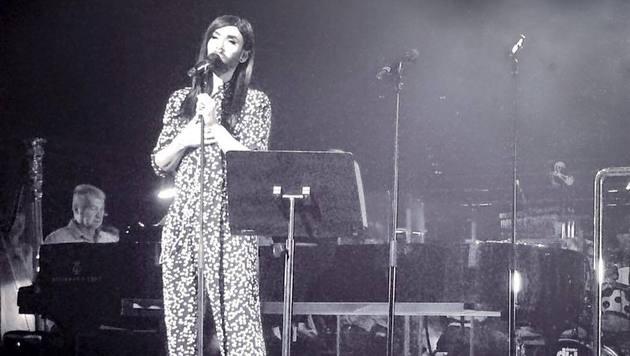 Conchita spielte in der Oper in Sydney ein Konzert. (Bild: facebook.com/ConchitaWurst)
