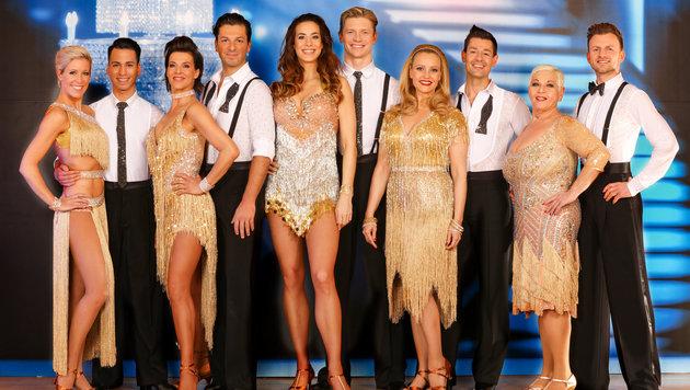 """In der zehnten Staffel """"Dancing Stars"""" kämpfen u.a. Sabine Petzl und Jazz Gitti um den Sieg. (Bild: ORF)"""