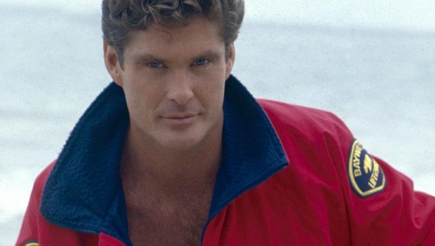 """David Hasselhoff spielte Mitch Buchannon in der 90er-Jahre-Kultserie """"Baywatch"""". (Bild: Viennareport)"""
