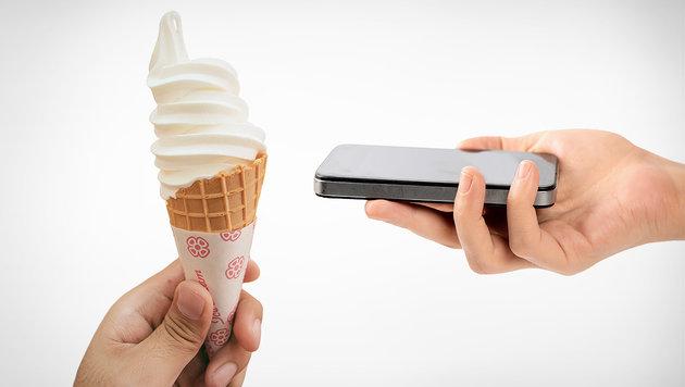 Gratis-Eis, wenn das Handy stumm bleibt (Bild: thinkstockphotos.de)