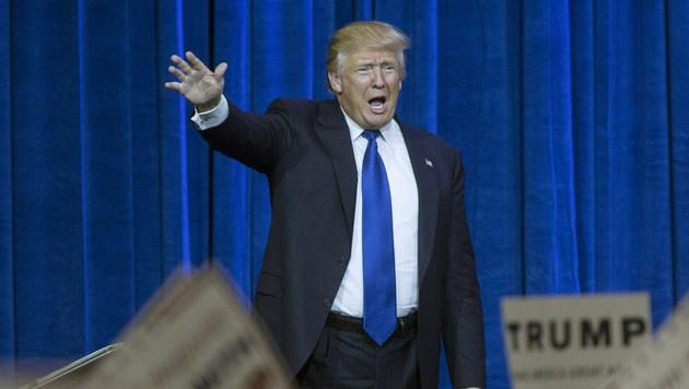 Mischt die Republikaner auf: Donald Trump (Bild: APA/AFP/Getty Images/Aaron P. Bernstein)