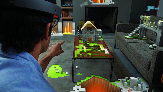 Intel arbeitet angeblich an HoloLens-Konkurrent (Bild: Microsoft)