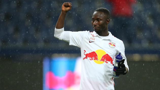 Naby Keita verlängert bei Salzburg bis 2021 (Bild: GEPA)