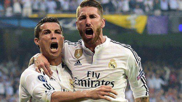 Ronaldo & Sergio Ramos wollen weg von Real Madrid (Bild: GERARD JULIEN / AFP / picturedesk.com)