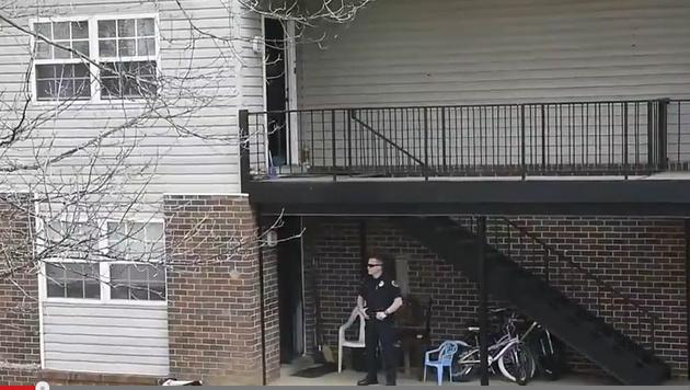 In diesem Haus schoss der 16-J�hrige auf seine Familie. (Bild: YouTube.com)