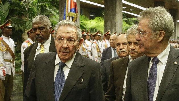 """""""Kuba-Annäherung an USA auch positiv für die EU"""" (Bild: APA/BUNDESHEER/PETER LECHNER)"""