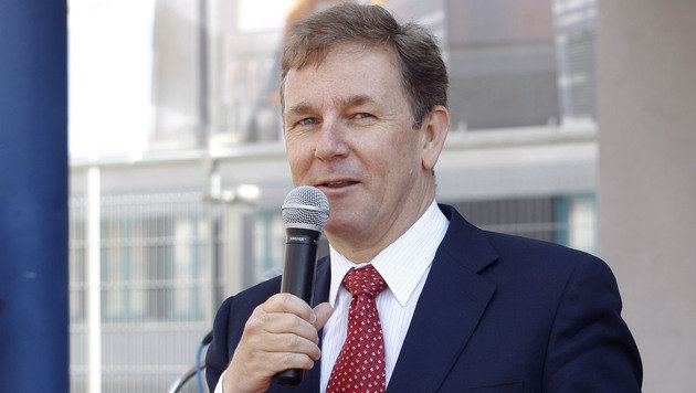 Ex-OMV-Aufsichtsratschef Peter Oswald (Bild: APA/GERT EGGENBERGER)