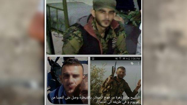 Auch dieser Terrorist soll nach Österreich gekommen sein. (Bild: mujremon.com)