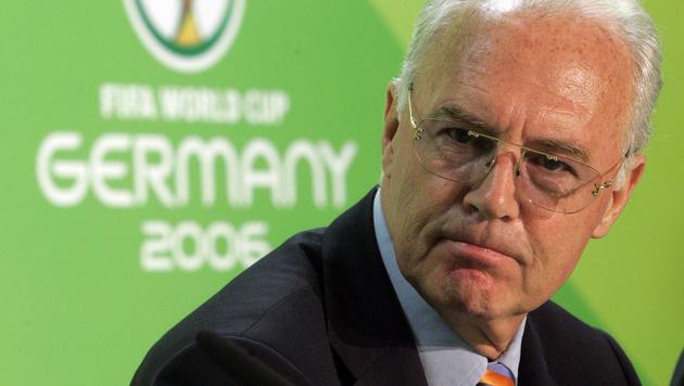 Franz Beckenbauer kassierte für WM 2006 5,5 Mio. € (Bild: AP)