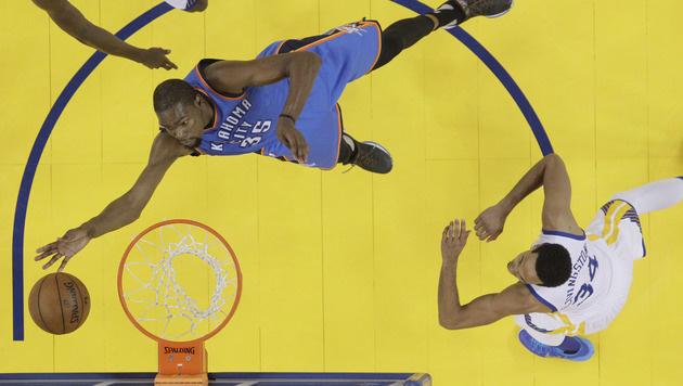 Golden State Warriors egalisieren Bulls-Heimrekord (Bild: AP)