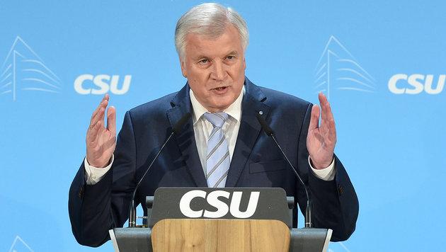 CSU-Chef Horst Seehofer (Bild: dpa)