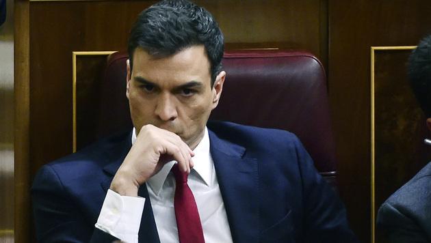 Spaniens Sozialistenchef Pedro Sanchez (Bild: AFP or licensors)