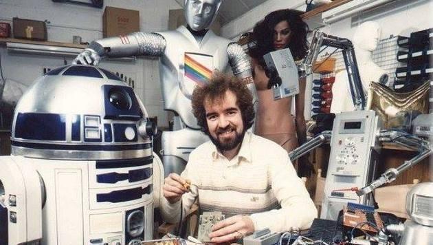 """Star Wars"": R2D2-Erfinder Tony Dyson gestorben (Bild: facebook.com/tony.tonydyson)"