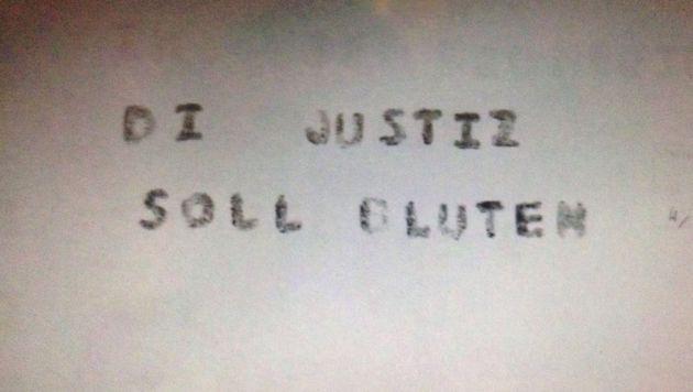 """Drohschreiben gingen bei der Justiz ein. (Bild: """"Krone"""")"""