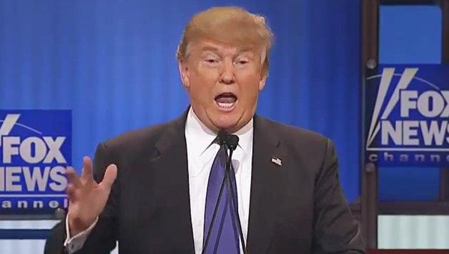 Trump prahlt mit der Gr��e seines Penis (Bild: YouTube.com)