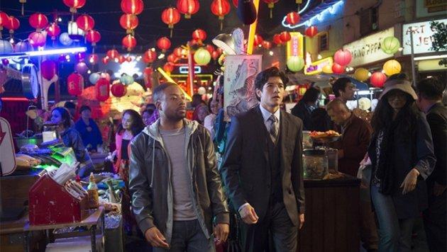 """Justin Hires und Jon Foo im Neuauflagen-Flop """"Rush Hour"""" (Bild: CBS)"""