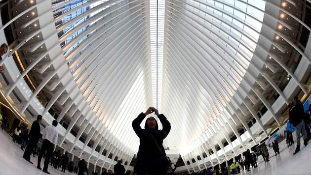 Teuerster Bahnhof der Welt in New York eröffnet (Bild: AFP or licensors)