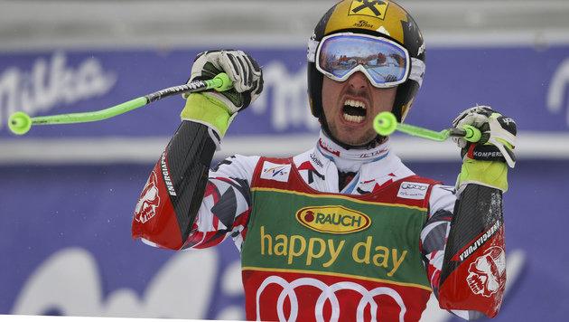 Marcel Hirscher zum 5. Mal Gesamtweltcup-Sieger (Bild: AP)