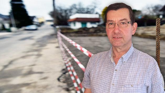 """Erich Polz, Bürgermeister von Rossatz: """"Das Paar führte ein Terror-Regime."""" (Bild: Markus Wenzel, Martina Prewein)"""