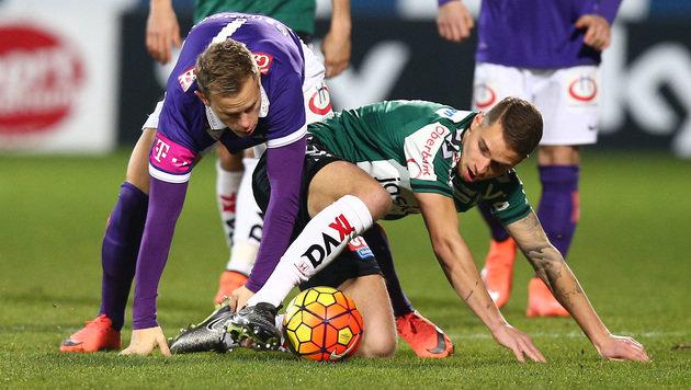 FK Austria ringt Ried nach 0:1 noch mit 3:1 nieder (Bild: GEPA)