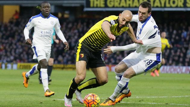 Fuchs & Leicester bauen mit Sieg Liga-Führung aus (Bild: AP)